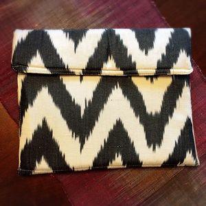 Handbags - BOHO Soft Fabric Pouch clutch, Chevron